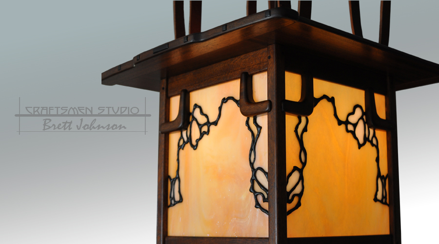 Greene and Greene Lighting | Hand Made Arts and Crafts Light Fixtures