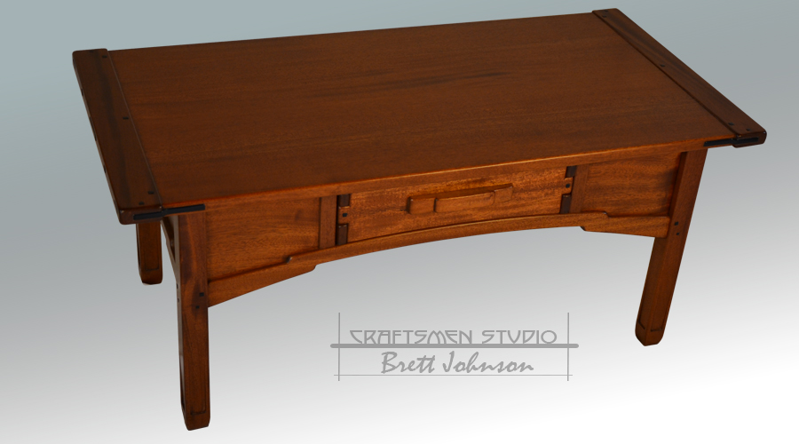 Greene and Greene Inspired Coffee Table | Arts and Crafts Furniture