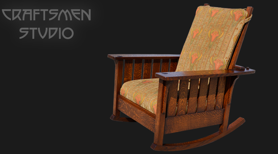 L & JG Stickley Rocking chair | Arts and Crafts Furniture