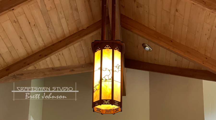 Greene and Greene Lighting | Hand Crafted Arts and Crafts Light Fixture