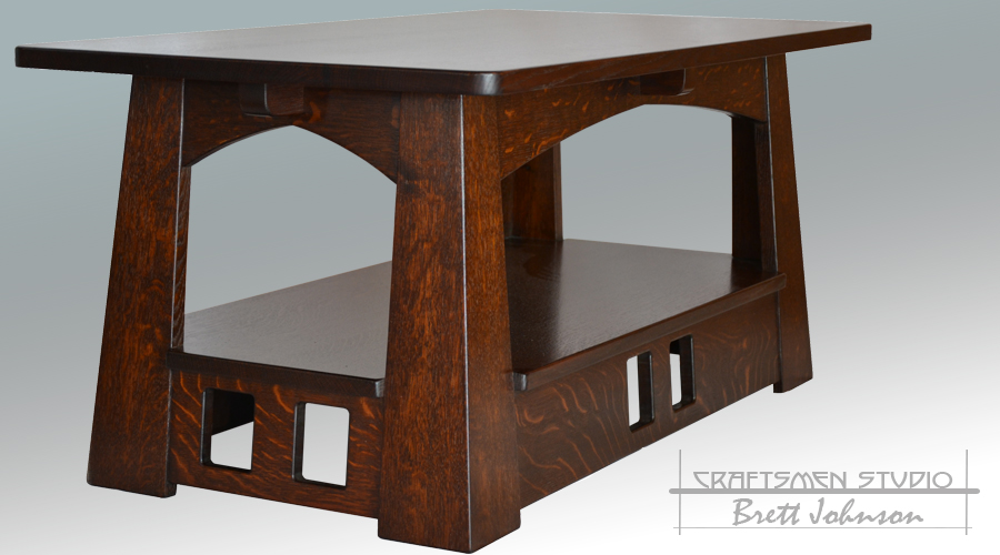 Arts and Crafts Coffee Table | Limbert Style Furniture