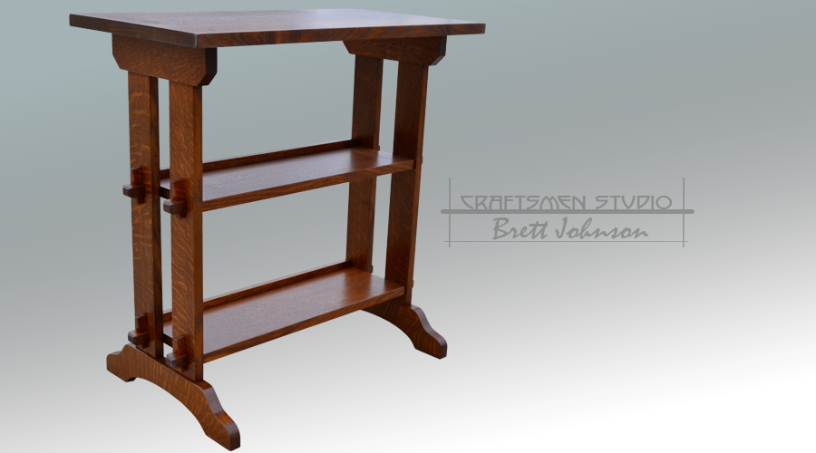 Roycroft Little Journey Stand | Arts and Crafts Furniture