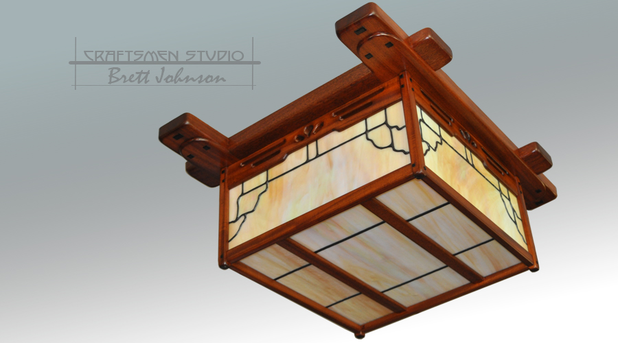 Greene and Greene Light fixture