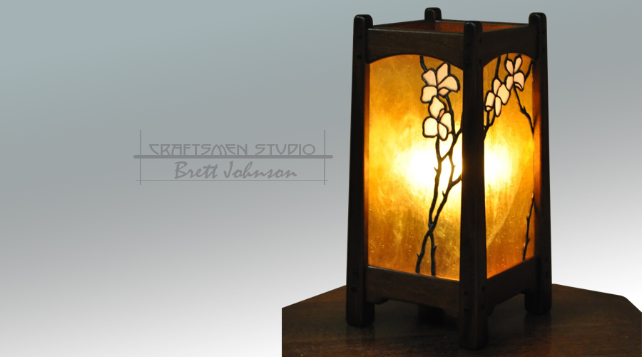 Arts and Crafts Table lamp Inspired By Greene and Greene