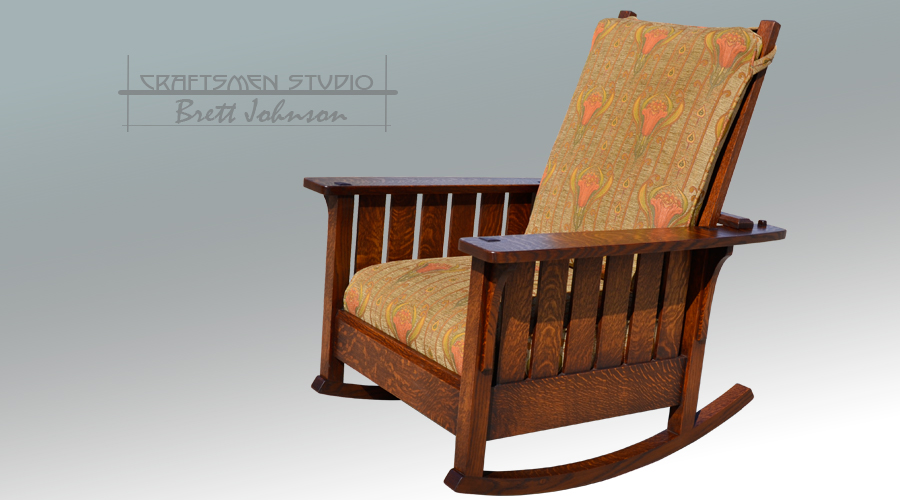 L & JG Stickley Rocking Chair | Arts and Crafts Rocker