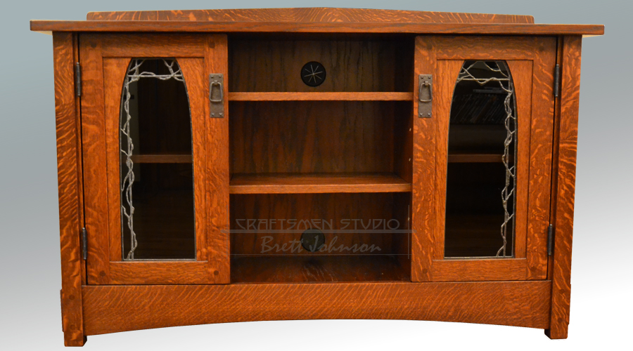 Arts and Crafts TV Cabinet | Craftsman Furniture